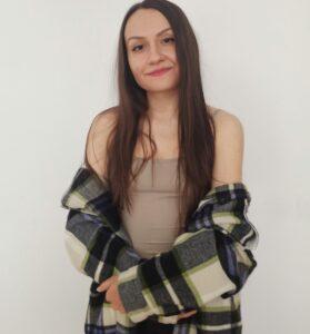 Diana Mladin- absolventă a cursului Jr Web Developer WOMEN4IT